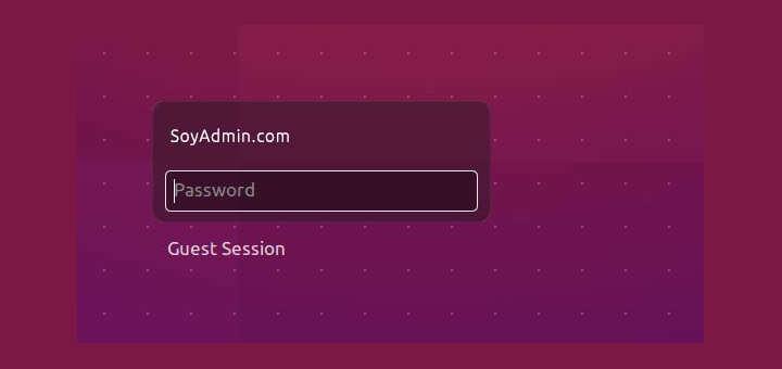 Como solucionar «Falló el inicio de sesión» en Ubuntu