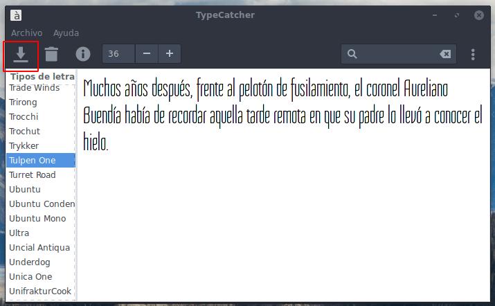 Instalar fuentes de Google Fonts en Debian, Ubuntu, Linux Mint y derivados