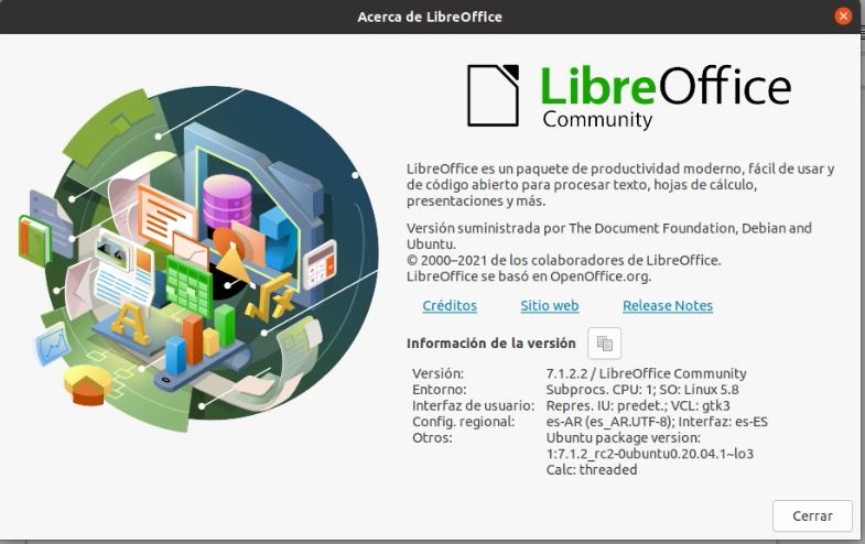 Actualizar LibreOffice a su última versión en Ubuntu / Linux Mint