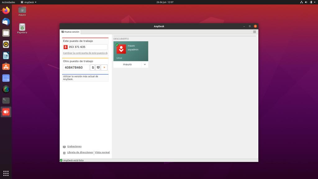 Instalar Anydesk en Ubuntu, Linux Mint y derivados